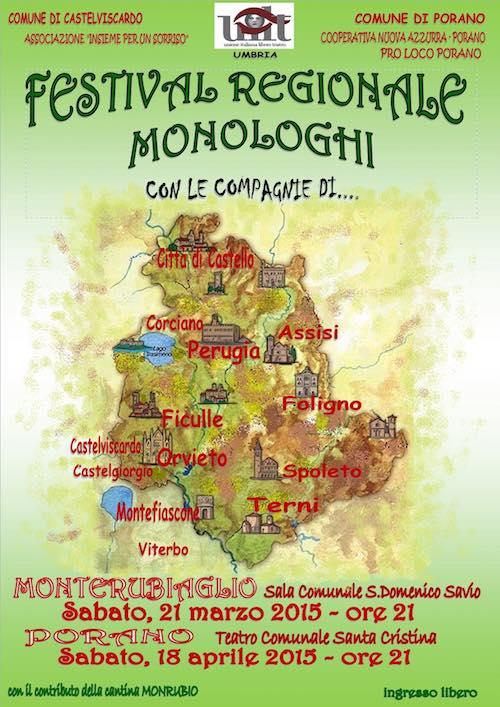Festival regionale dei monologhi, a Monterubiaglio la serata di premiazione