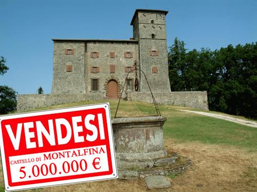 Palazzi e Castelli dell'orvietano. C'è chi vende e chi preferisce il degrado