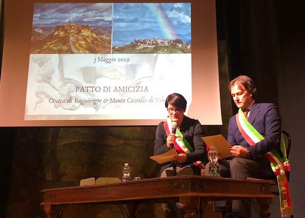 Patto d'amicizia tra Monte Castello di Vibio e Civita di Bagnoregio