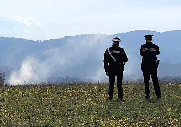 Brillato l'ordigno bellico rinvenuto in un terreno agricolo nei pressi di Montegiove