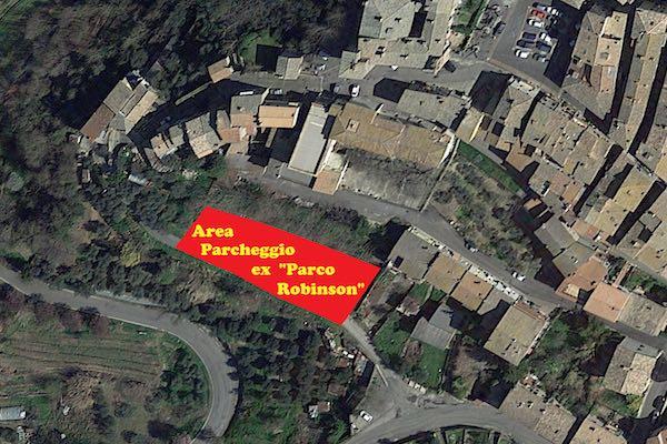 Il Comune acquista il Parco Robinson, sarà un parcheggio per auto e camper