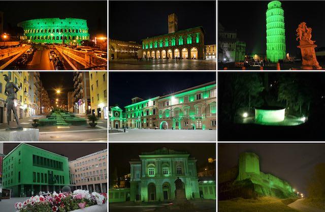 Il Global Greening colora di verde Orvieto e il mondo intero