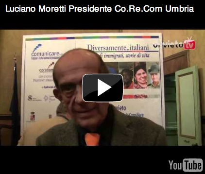 Intervista a Luciano Moretti, Presidente Co.Re.Com Umbria