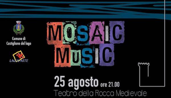"""Diego Pucci in concerto alla Rocca con """"Mosaic Music"""""""