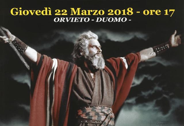 """""""Mosè in Egitto"""" per """"Omaggio all'Umbria"""". Concerto di Pasqua in Duomo"""