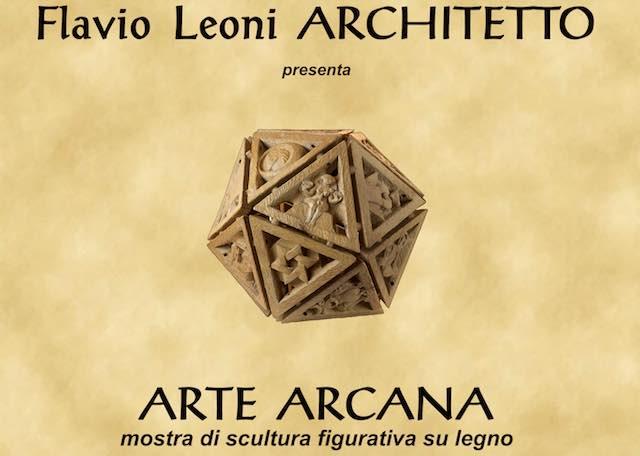 """""""Arte Arcana"""". In mostra la scultura figurativa su legno di Flavio Leoni"""