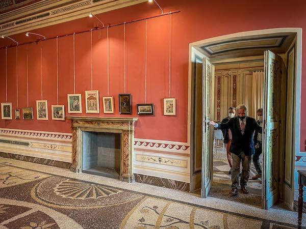Di nuovo visitabile a Palazzo Corgna la mostra di Antonio Marroni