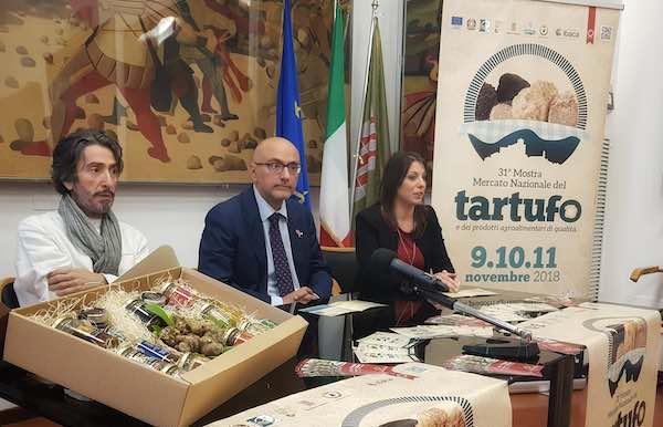 La Mostra Mercato Nazionale del Tartufo e dei Prodotti Agroalimentari di Qualità fa 31