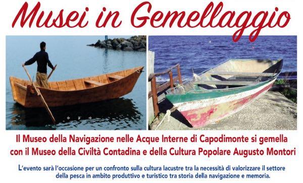 Due musei e due laghi insieme per valorizzare e proteggere i patrimoni culturali locali