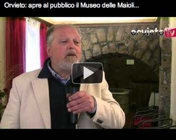Orvieto: apre al pubblico il Museo delle Maioliche Medievali e Rinascimentali Orvietane