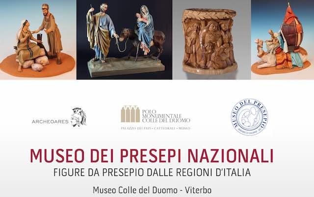 """""""Il Presepio italiano al Museo Colle del Duomo"""". Figure presepiali dalle regioni d'Italia"""