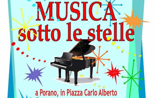 """""""Musica sotto le stelle"""" nella cornice di Piazza Carlo Alberto"""