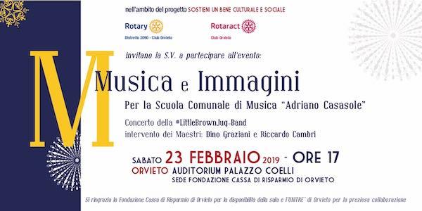 """Rotary per la cultura. Concerto a sostegno della Scuola di Musica """"Casasole"""""""