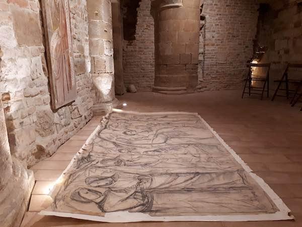 Nelle Cripte del Duomo, la mostra dello scultore toscano Vasco Nasorri