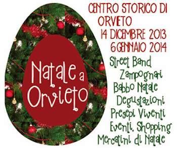 Orvieto Natalizia: musica, mercatini, fidelity card, sosta gratuita nel centro storico