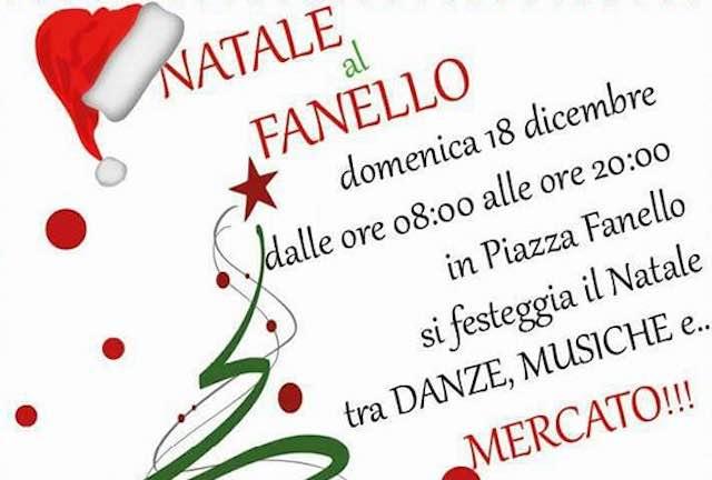 """""""Natale al Fanello"""". Musica e danza, aspettando Babbo Natale al mercato straordinario"""