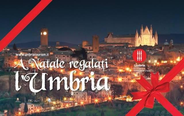 """""""A Natale regalati l'Umbria"""". Stesso slogan, nuova priorità: rilanciare il settore dopo il sisma"""