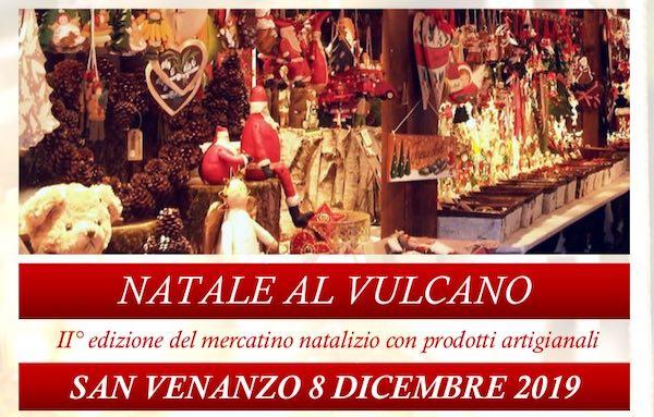 """""""Natale al Vulcano"""". Seconda edizione per il mercatino di prodotti artigianali"""