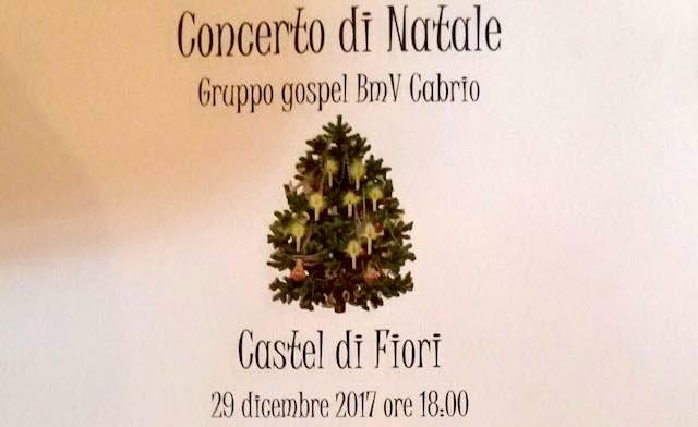 """""""Concerto di Natale"""" a Castel di Fiori. Gospel nella Chiesa di S.Maria Maddalena"""