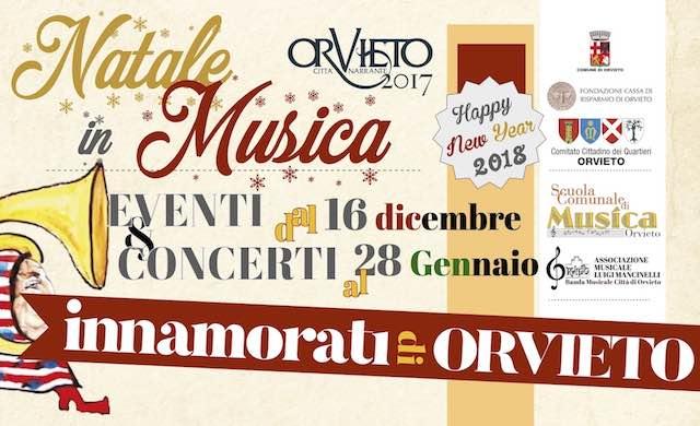 """""""Natale in Musica 2017"""". Eventi e concerti dal 16 dicembre 2017 al 28 gennaio 2018"""