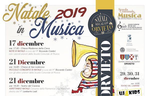 """Da Natale all'Epifania, tutti i concerti della Scuola Comunale di Musica """"Adriano Casasole"""""""