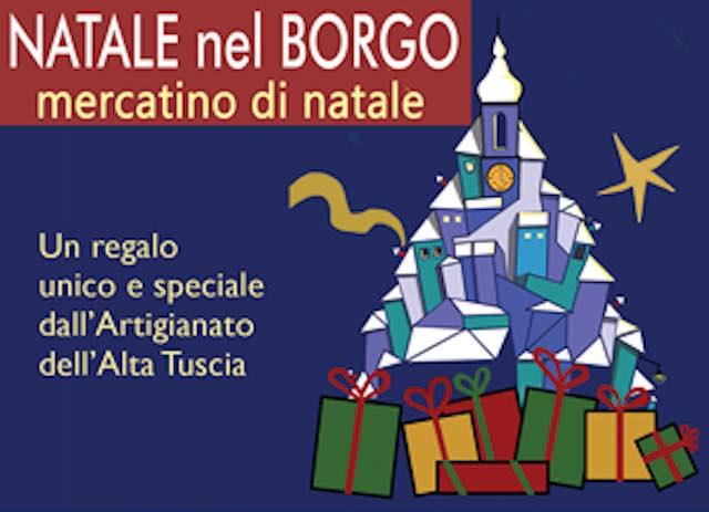 """""""Natale nel Borgo"""". Mercatino dell'artigianato a Palazzo Farnese"""