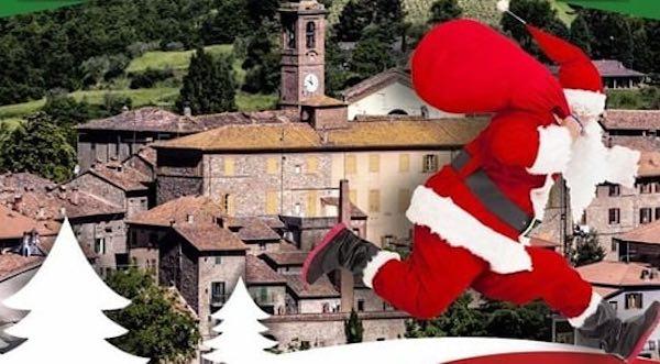 """Christmas Running Valnestore"", 150 runner alla corsa dei Babbi Natale"