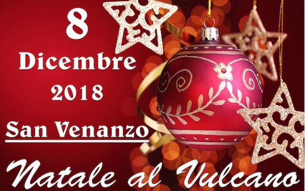 """Natale al Vulcano"". Mercatino artigianale, street parade e aperitivi"