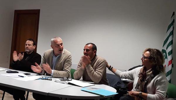 Valerio Natili riconfermato coordinatore dell'area sindacale Cisl di Perugia e zona del Lago
