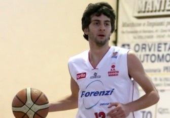Lorenzo Negrotti confermato alla Telematica Orvieto Basket