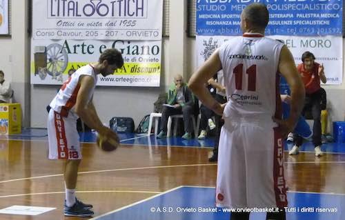 Brutta tegola per l'Orvieto Basket. Negrotti out per un mese