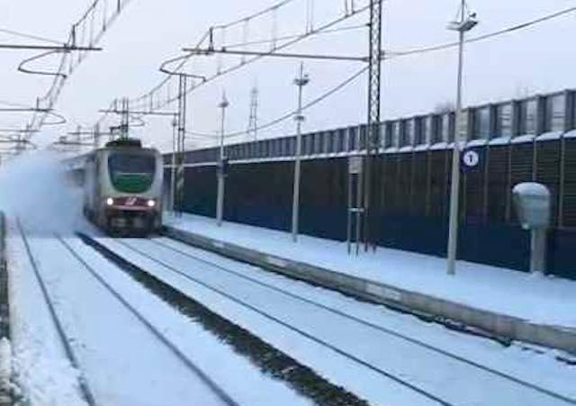 Attivati i piani neve e gelo di Rete ferroviaria italiana e Trenitalia