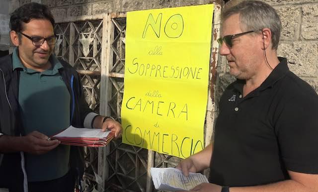 Il Consiglio di Stato sospende la soppressione della Camera di Commercio