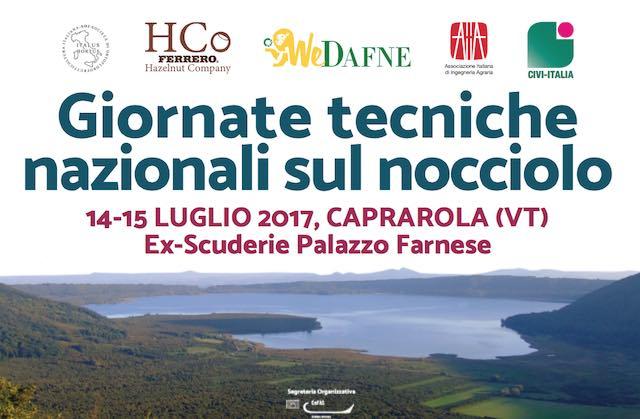 Giornate tecniche nazionali sul Nocciolo nelle ex scuderie di Palazzo Farnese