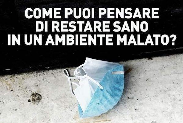 Guanti e mascherine assimilati ai rifiuti urbani e conferiti come indifferenziato