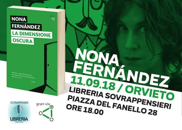 """Nona Fernández presenta il libro """"La dimensione oscura"""""""