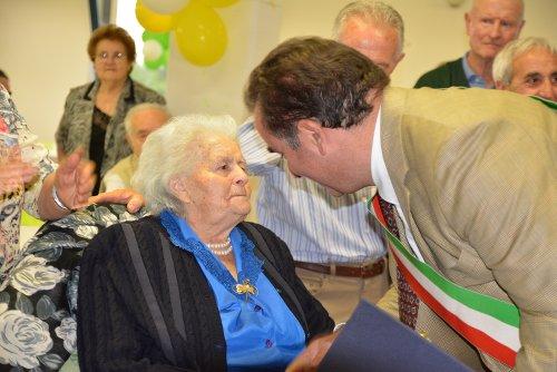 Addio a nonna Santina, aveva 103 anni