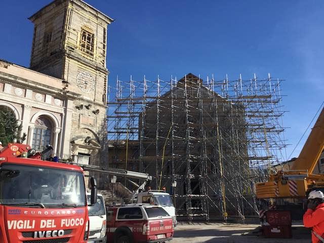San Venanzo solidale, a San Pellegrino di Norcia per consegnare contributo
