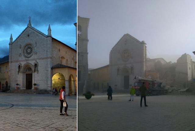 Emergenza terremoto, via al dialogo per salvare il patrimonio dell'Umbria
