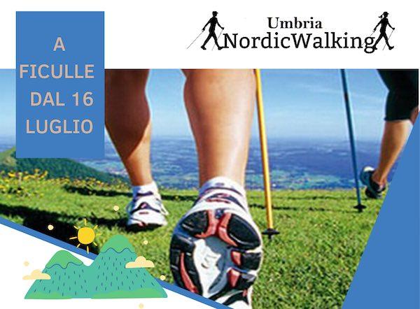 Nell'estate 2020 la Scuola Nordic Walking Umbria scommette su Ficulle