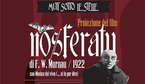 """Musica dal vivo per accompagnare la proiezione di """"Nosferatu"""""""