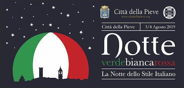 """Notte Verde, Bianca e Rossa"" dedicata alle eccellenze italiane"