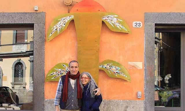 """Si inaugura """"Sancti Francisci"""", la scultura realizzata nel laboratorio di pittura del carcere di Orvieto"""