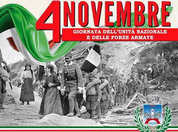 Il 4 Novembre, la commemorazione dei caduti in guerra
