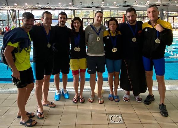 Nuoto, grandi risultati ai Campionati Regionali Master Umbria 2020