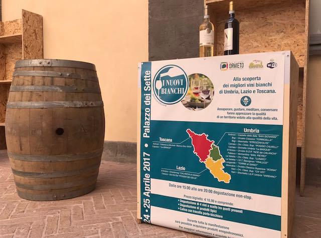 """""""I Nuovi Bianchi"""", seconda edizione. Tre giorni di degustazioni al Palazzo dei Sette"""