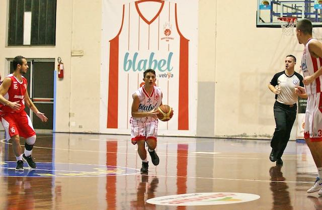 Vetrya Orvieto Basket all'esordio ufficiale in casa