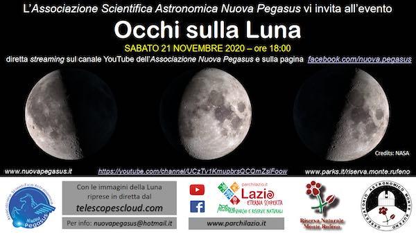 """""""Occhi sulla Luna, un omaggio al nostro satellite naturale"""""""