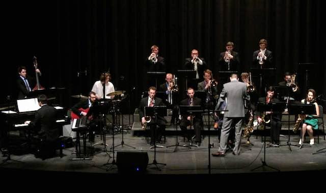 L'UNH Jazz Band dell'Università del New Hampshire chiude il Big Band Festival al Muvis