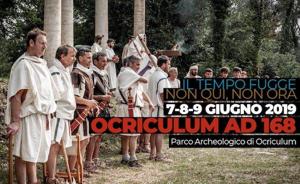 """Nell'Antica Roma con """"Ocriculum AD 168"""". Salto indietro al tempo di Marco Aurelio"""